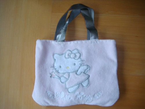 sac, hello kitty, rose, couture